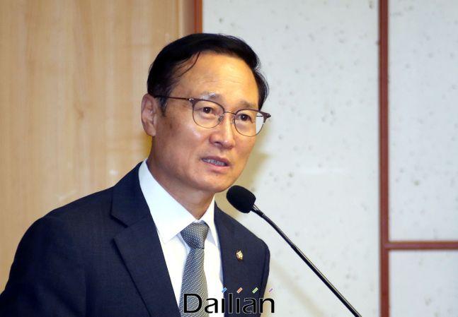 홍영표 더불어민주당 의원. ⓒ데일리안 박항구 기자