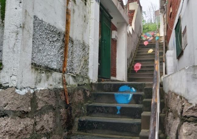 도시재생 사업이 완료된 창신동 일대 ⓒ창신동 재개발 준비위원회