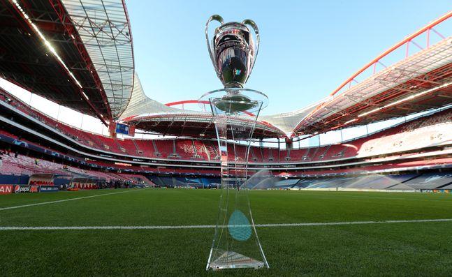 UEFA 챔피언스리그 우승 트로피. ⓒ 뉴시스