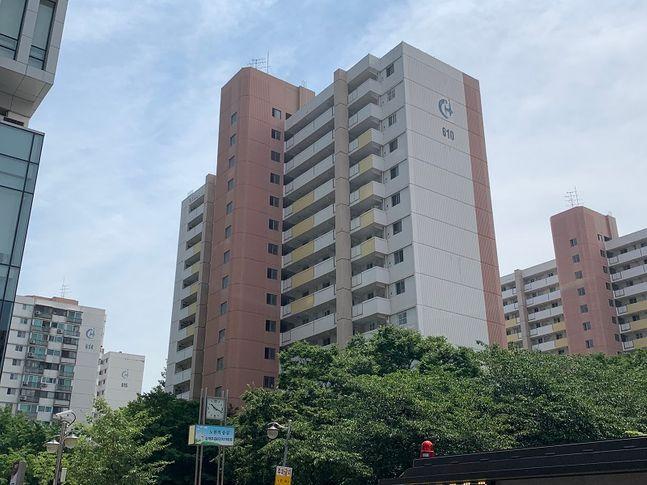 노원구 상계동 상계주공 6단지 아파트 전경 ⓒ김희정 기자