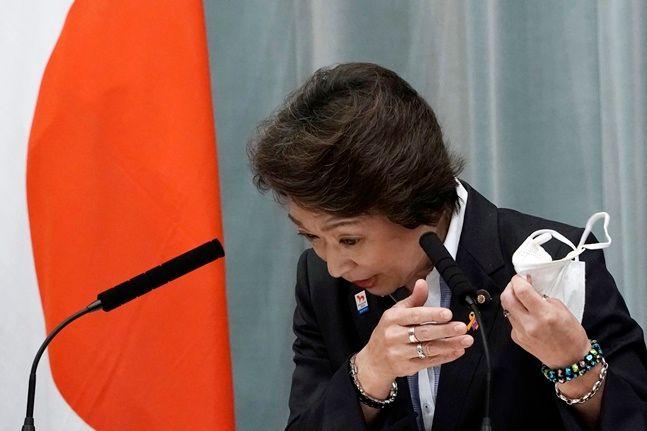 하시모토 세이코 일본 올림픽·패럴림픽 장관. ⓒ 뉴시스