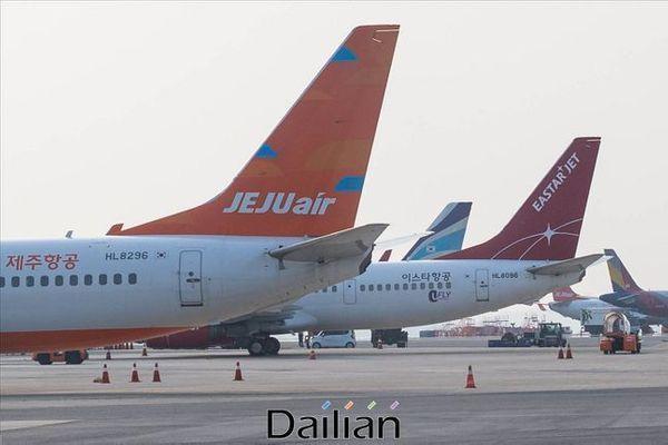 제주항공-이스타항공(자료사진). ⓒ데일리안 홍금표 기자