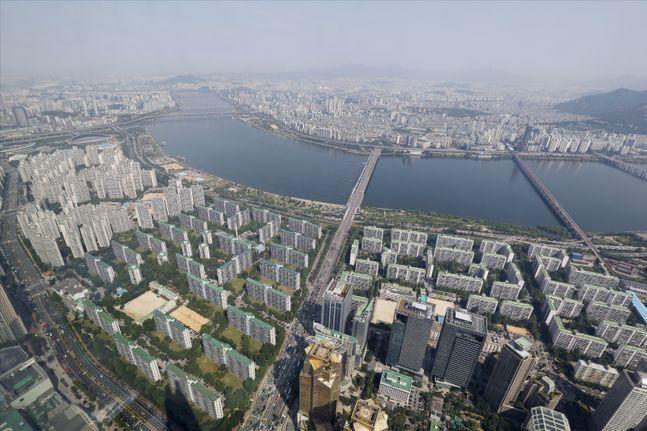 서울의 한 아파트 밀집지역 모습. ⓒ데일리안 홍금표 기자