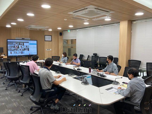 4차산업혁명 기술 상생협력 얼라이언스 온라인 간담회 ⓒ동서발전