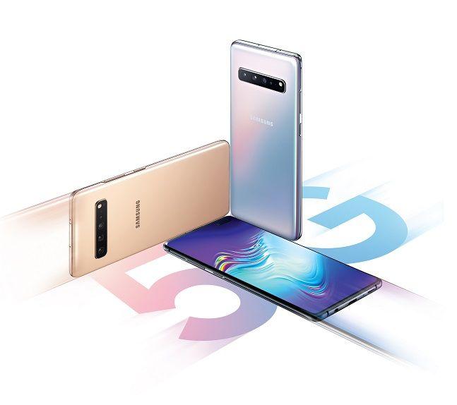 삼성전자 스마트폰 '갤럭시S10 5G'.ⓒ삼성전자