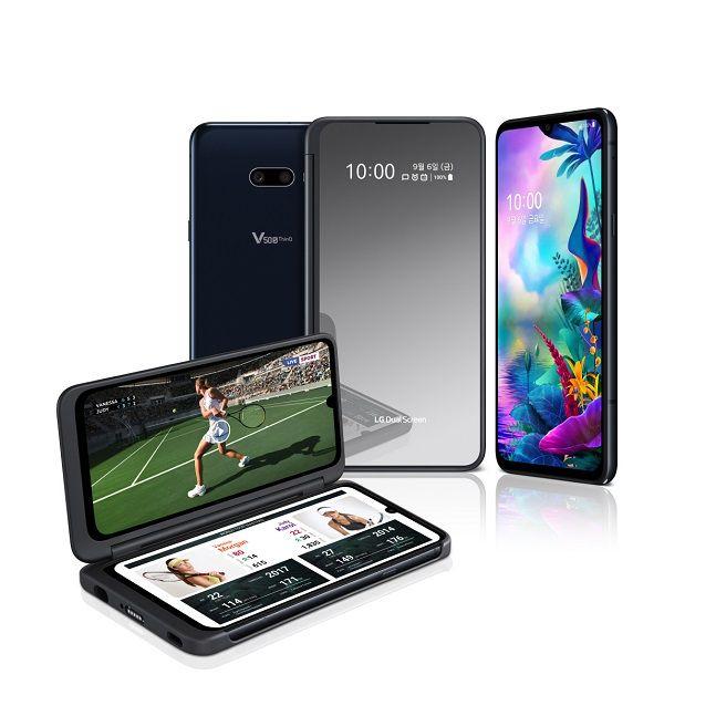 LG전자 스마트폰 'LG V50S 씽큐'.ⓒLG전자
