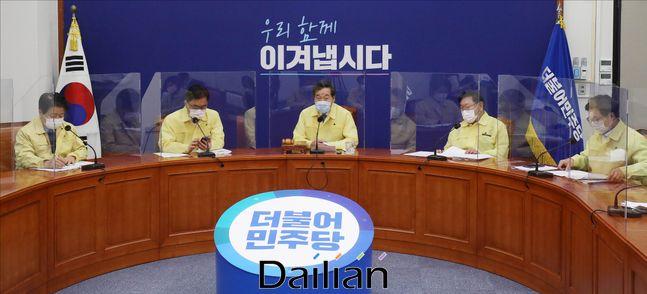 지난 9월 2일 오전 서울 여의도 국회에서 더불어민주당 최고위원회의가 열리고 있다.ⓒ데일리안 홍금표 기자