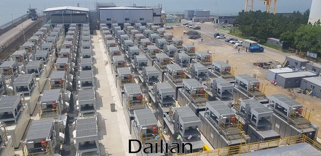 서부발전 서인천발전본부 4단계 연료전지 구축현장 ⓒ서부발전