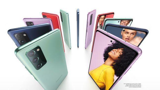 삼성전자 보급형 스마트폰 '갤럭시S20 FE