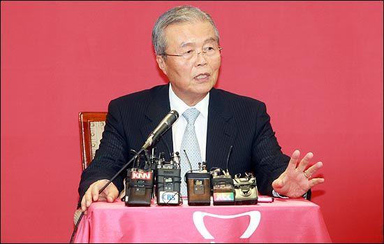 지난 2012년 8월 29일 김종인 당시 새누리당 국민행복특별위원장이서울 여의도 당사에서 기자간담회를 하고 있다.(자료사진) ⓒ데일리안 박항구 기자