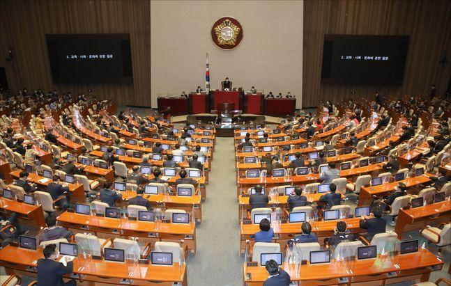 국회 본회의(자료사진). ⓒ데일리안 박항구 기자