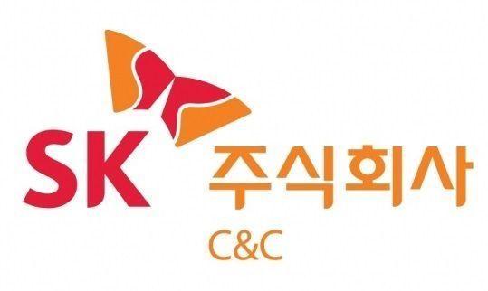 SK(주)C&C로고.