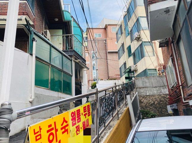 올해 1차 뉴딜 신규사업지로 선정된 서울 성북구 안암동 일대 주거지역 모습.ⓒ데일리안 이정윤 기자