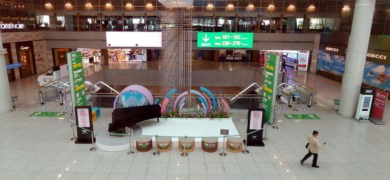 인천공항 제1여객터미널의 신규 면세점 사업자 선정을 위한 입찰이 22일 마감되는 가운데 이날 인천공항 면세구역이 한산한 모습을 보이고 있다.ⓒ뉴시스
