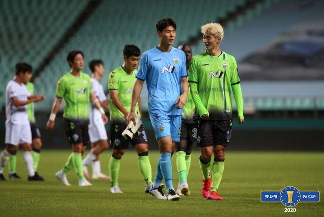 15년 만에 FA컵 우승에 도전하는 전북. ⓒ 대한축구협회