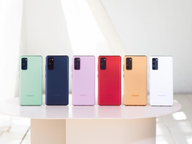 삼성전자 스마트폰 '갤럭시S20 FE(팬 에디션)'.ⓒ삼성전자