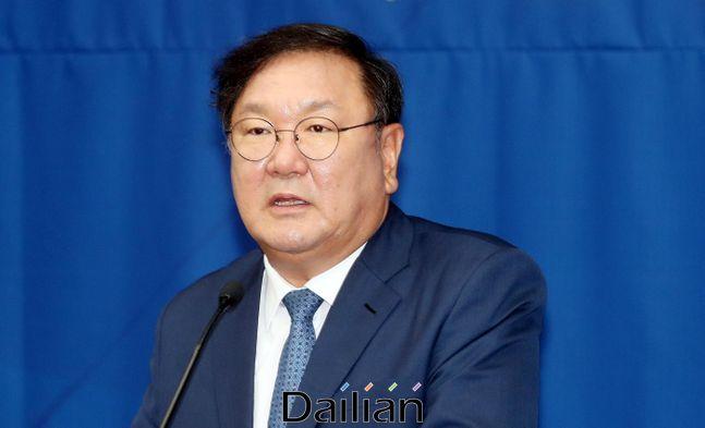 김태년 더불어민주당 원내대표ⓒ데일리안 박항구 기자