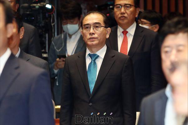 태영호 국민의힘 의원(자료사진) ⓒ데일리안 홍금표 기자