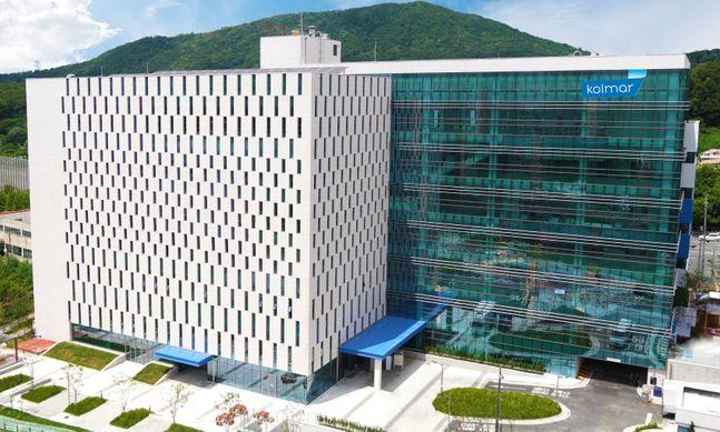 글로벌 화장품 제조업자개발생산(ODM) 기업 한국콜마가 화장품 소재 국산화에 앞장서고 있다. ⓒ한국콜마