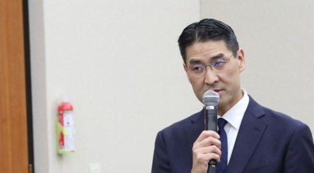 존리 구글코리아 대표가 2019년 10월 국회에서 열린 과학기술정보방송통신위원회 방송통신위원회 국정감사에서 의원들의 질의에 답변하고 있다.ⓒ연합뉴스