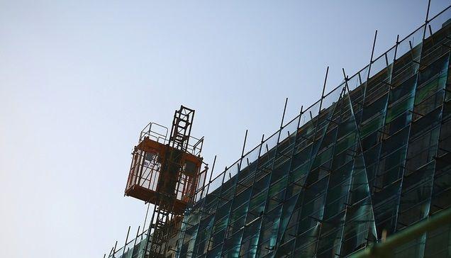 서울의 한 오피스텔 건설현장 모습.(자료사진)ⓒ뉴시스