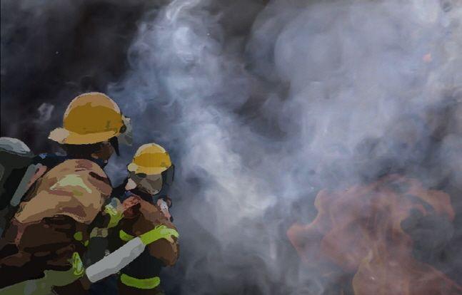 서울 중구 프레스센터에서 화재가 발생하 한 때 건물 안에 있던 수백명이 대피했다.(자료사진)ⓒ뉴시스