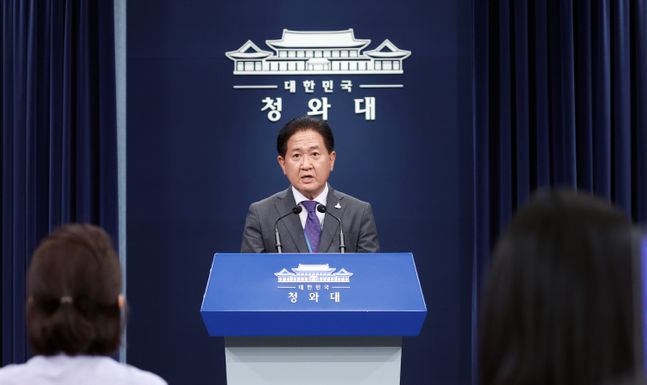 서주석 청와대 국가안전보장회의(NSC) 사무처장. ⓒ뉴시스