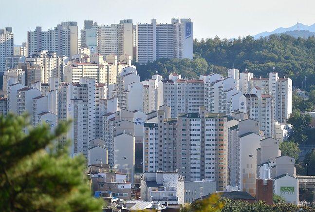 서울 성북구 일대 아파트 밀집지역 모습.ⓒ뉴시스