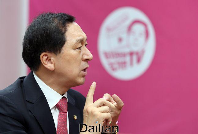 김기현 국민의힘 의원. ⓒ데일리안 박항구 기자