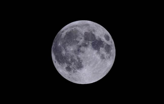 보름달 사진. ⓒ한국천문연구원