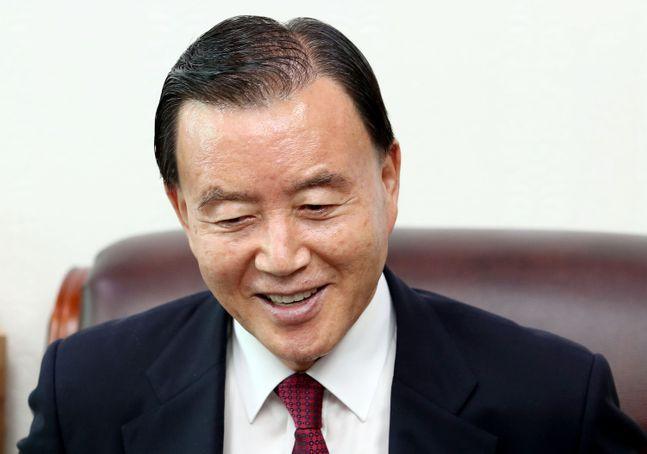 국민의힘 4선 중진 홍문표 의원. ⓒ데일리안 박항구 기자