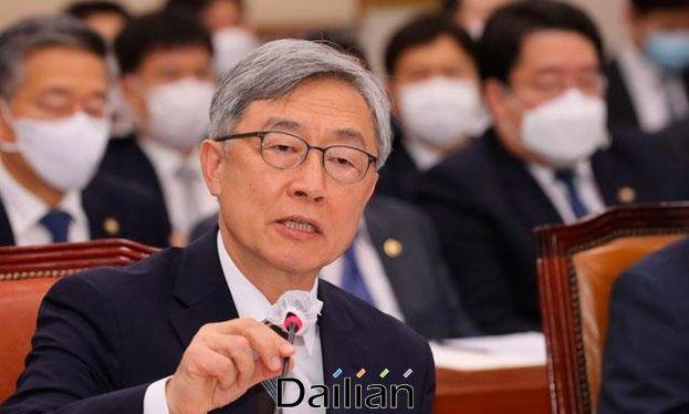 최재형 감사원장이 지난 7월 29일 국회에서 열린 법사위 전체회의에서 의원 질의에 답변하고 있다. ⓒ연합뉴스