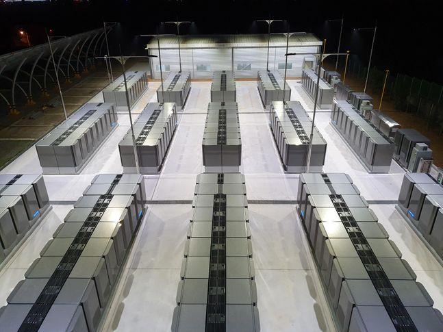 파주연료전지 발전소 전경.ⓒSK건설