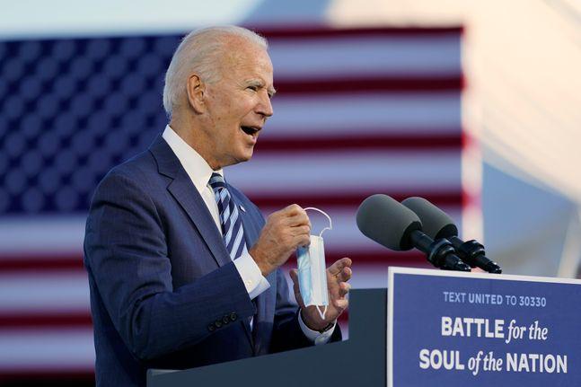조 바이든 미국 민주당 대선후보. ⓒAP_뉴시스