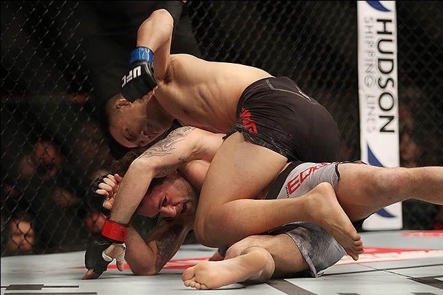 [UFC] 정찬성-에드가. ⓒ 데일리안 류영주 기자