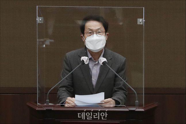 조희연 서울시교육감 ⓒ데일리안 홍금표 기자
