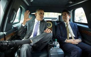 오바마의 극진한 아베 환대, 초라해진 한미동맹