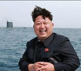 김정은 잠수함탄도미사일 실험도 강건너 불구경