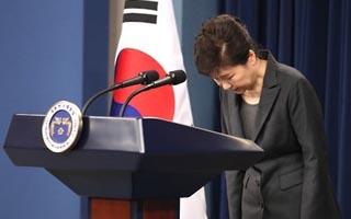 """박 대통령 """"잘못 솔직 인정""""…사이비종교, 청와대굿 부인"""