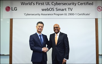 LG전자,UL 사이버 보안평가 'CAP' 인증 획득...스마트TV 최초