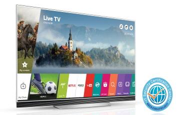LG 웹 OS 스마트TV, 보안 기술력 인증