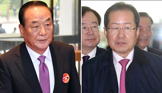 홍준표-서청원의 총질로 본 한국당의 9가지 특징