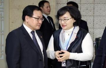 """유영민 장관 """"중소 중견기업 역할 중요...과학기술 일자리 힘써달라"""""""