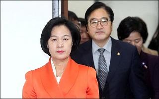 """추미애 """"한국당 행태, 평창올림픽 유일한 오점"""""""