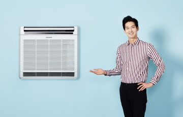 삼성전자, 벽걸이형 공기청정기 '블루스카이 4000' 출시