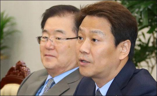 '남북정상회담 준비위' 임종석 아래 장관들은 들러리