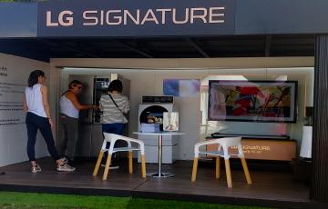 LG전자, '에비앙 챔피언십'에서 'LG 시그니처' 마케팅 진행