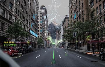 현대차 홀로그램 업체 웨이레이에 투자…2020년 증강현실 내비 탑재