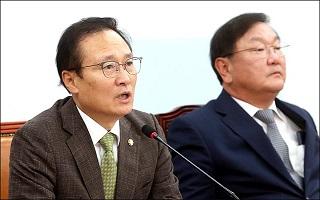 """홍영표 """"유은혜 임명, 더이상 기다릴 수 없어"""""""