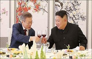 올 한해 김정은이 문 대통령 갖고 논 건 아니겠지요